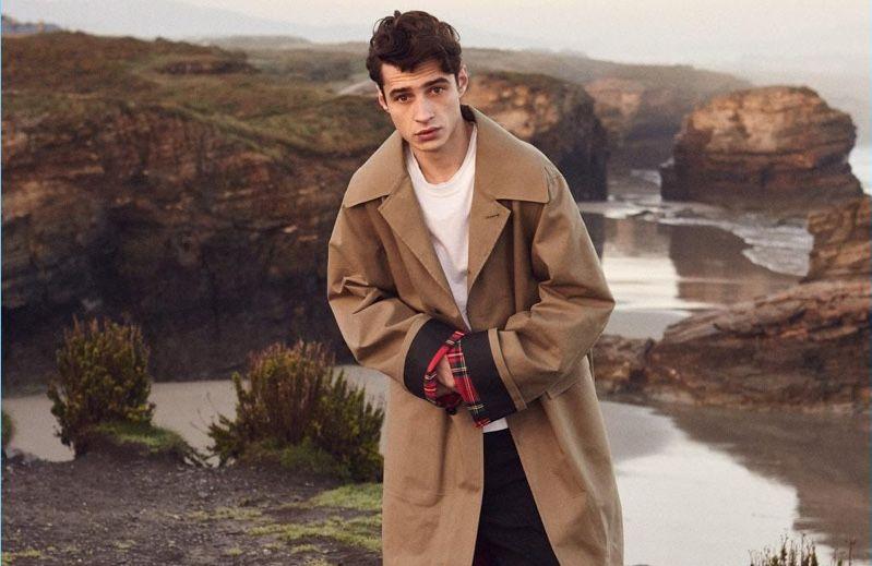 Adrien Sahores Dons Spring Fashions for Esquire España