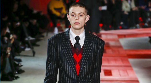 Alexander McQueen Proposes Bold Sartorial Style for Fall '18