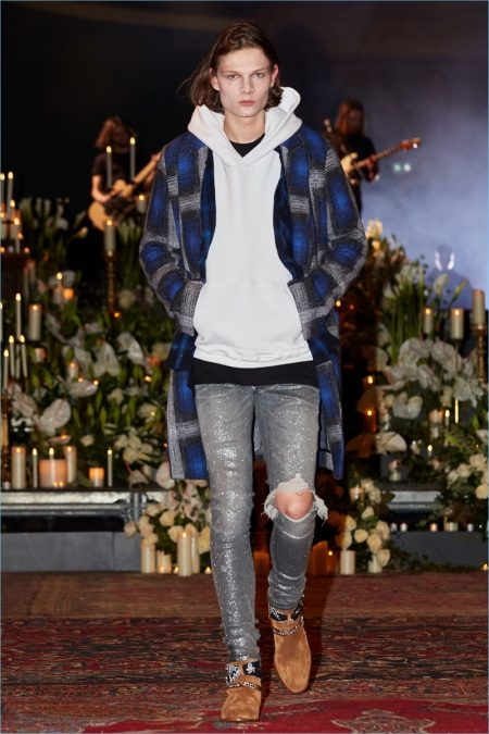 amiri fall 2018 men�s collection runway show the