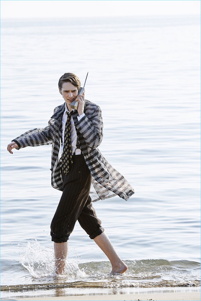 Dylan Fender Travels to Gaeta, Italy for Fendi Spring '18 Campaign