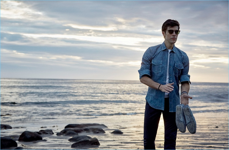 Behind the Scenes: Roberto Bolle for Tod's spring-summer 2018 campaign.