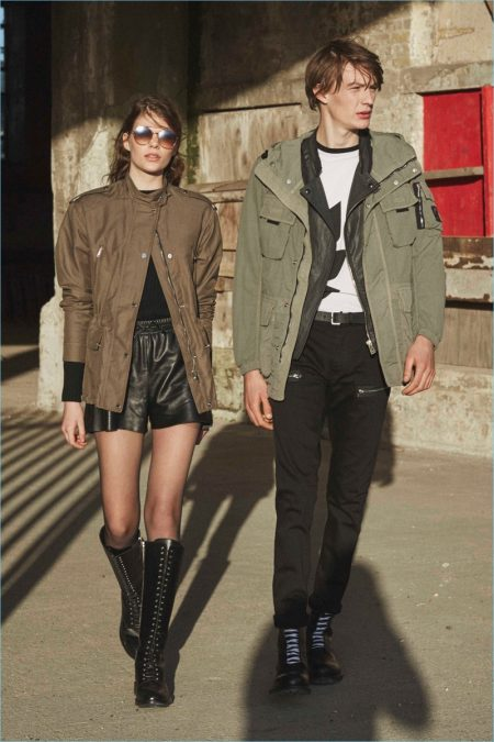 Belstaff Reinterprets 50s Youth Style for Fall '18 Collection