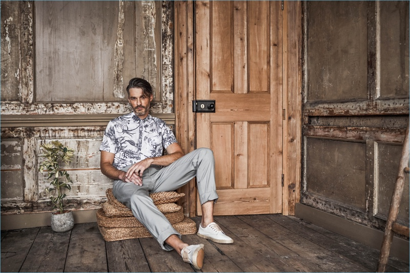 Matalan enlists Ben Hill to model its spring-summer 2018 selection.