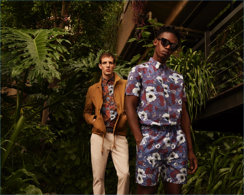 Ben Sherman Delivers a Peacock Style Revolution for Spring '18 Campaign