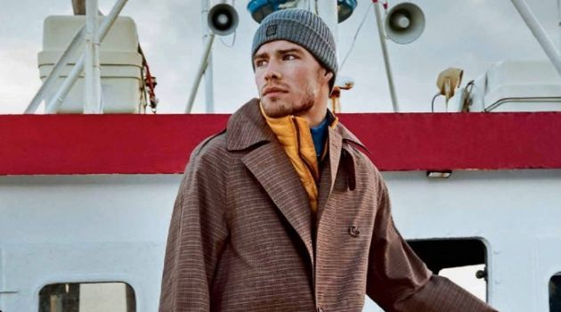 Cool Breeze: Bergur Sports Nautical Style for Euroman