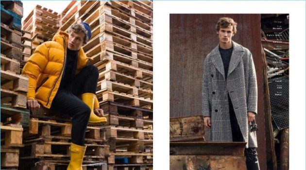 Hidden Treasures: Bram Valbracht Stars in Caleo Cover Shoot