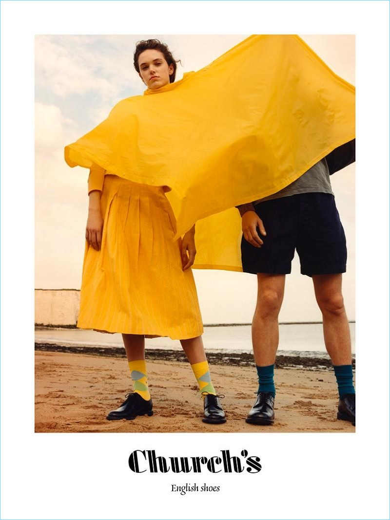 Jamie Hawkesworth photographs Church's spring-summer 2018 campaign.