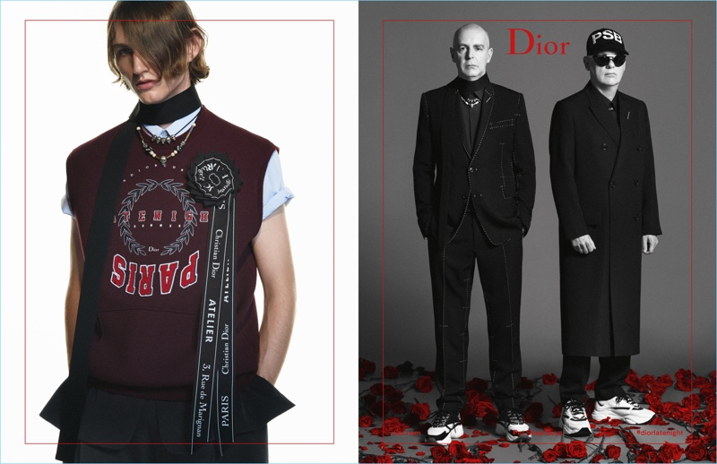 Dior Homme enlists Henry Rausch and The Petshop Boys as the stars of its spring-summer 2018 campaign.