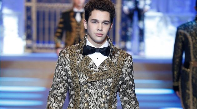 Dolce & Gabbana presents its fall-winter 2018 collection during Milan Fashion Week.