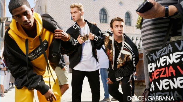Dolce & Gabbana Heads to Venice for Spring '18 Campaign
