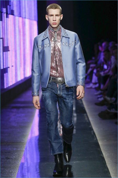 Dsquared2 Cosigns Western Style with Fall '18 Collection