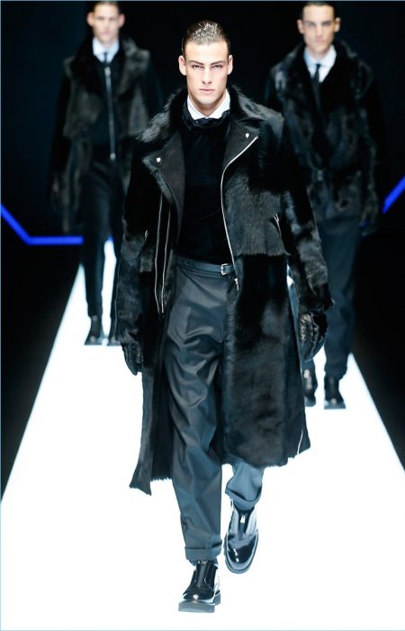 Emporio Armani Fall 2018 Men S Collection Runway Show The