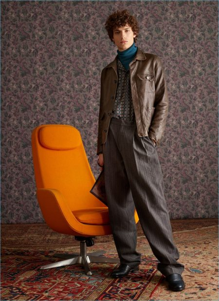 Etro Takes a 'Dandy Detour' for Fall '18 Collection