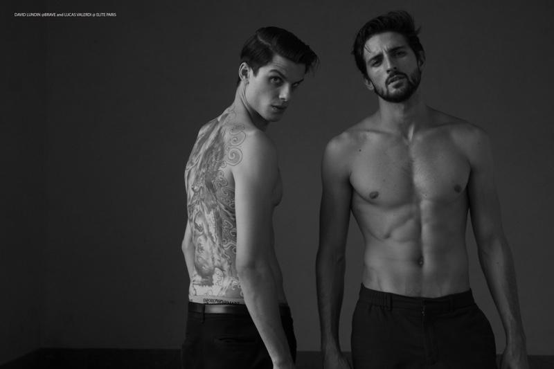 Lucas Valerdi @ Elite Paris and David Lundin @ Brave Models