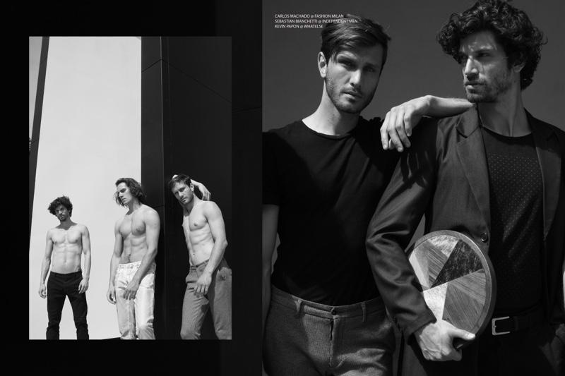 Carlos Machado @ Fashion Milan, Kevin Papon @ Whatelse, and Sebastian Bianchetti @ Independent Men