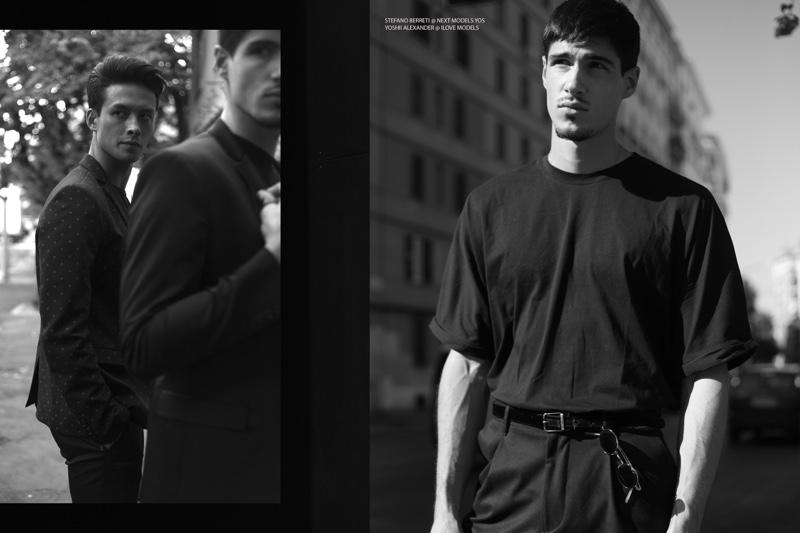 Yoshi Alexander @ I Love Models Management and Stefano Berretti @ Next Models