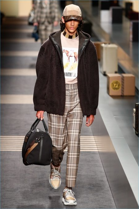 Fendi Travels in Style for Fall '18