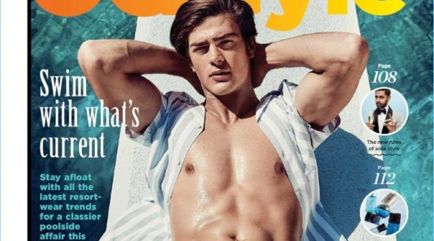 Zandre du Plessis & Mason Guido Model Summer Styles for GQ South Africa