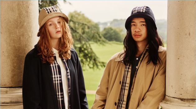 A reconstructed car coat is front and center for Gosha Rubchinskiy's Burberry collaboration.
