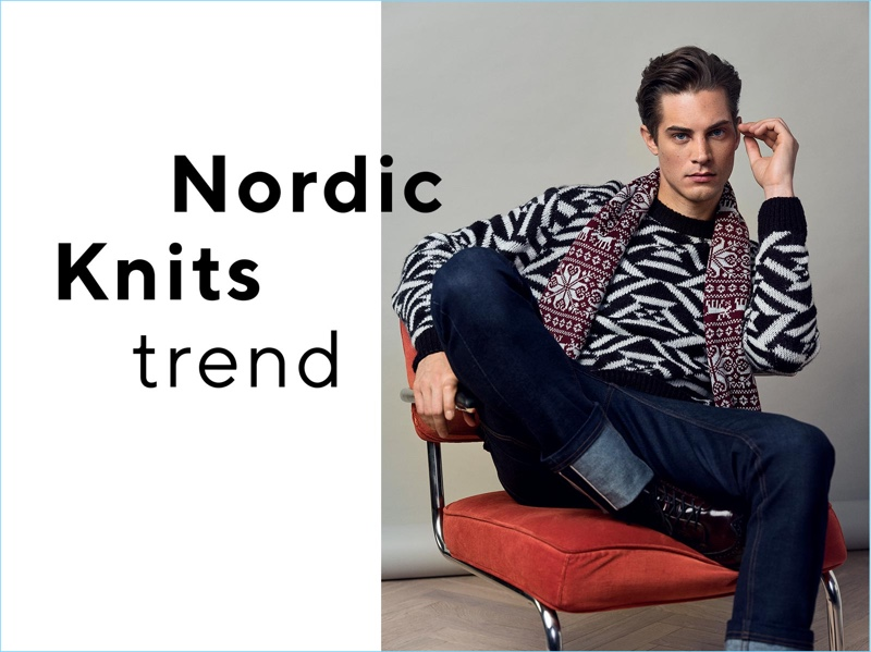 Reserved highlights its Nordic knits with a shoot featuring Greg Nawrat.