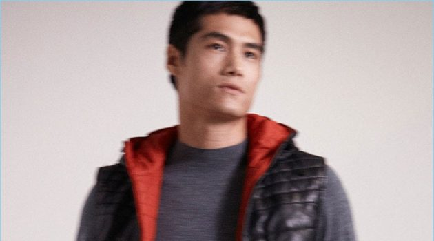 Fresh Start: Hao Yun Xiang Dons Red & Black Looks for Massimo Dutti