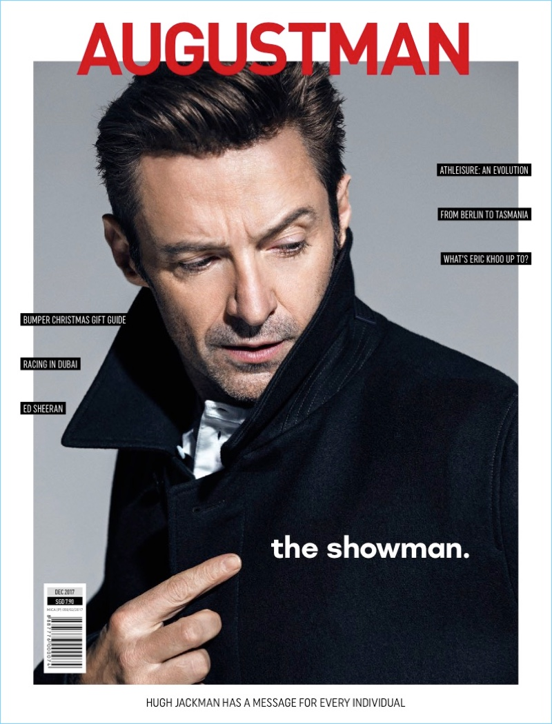 Hugh Jackman graces the pages of August Man.