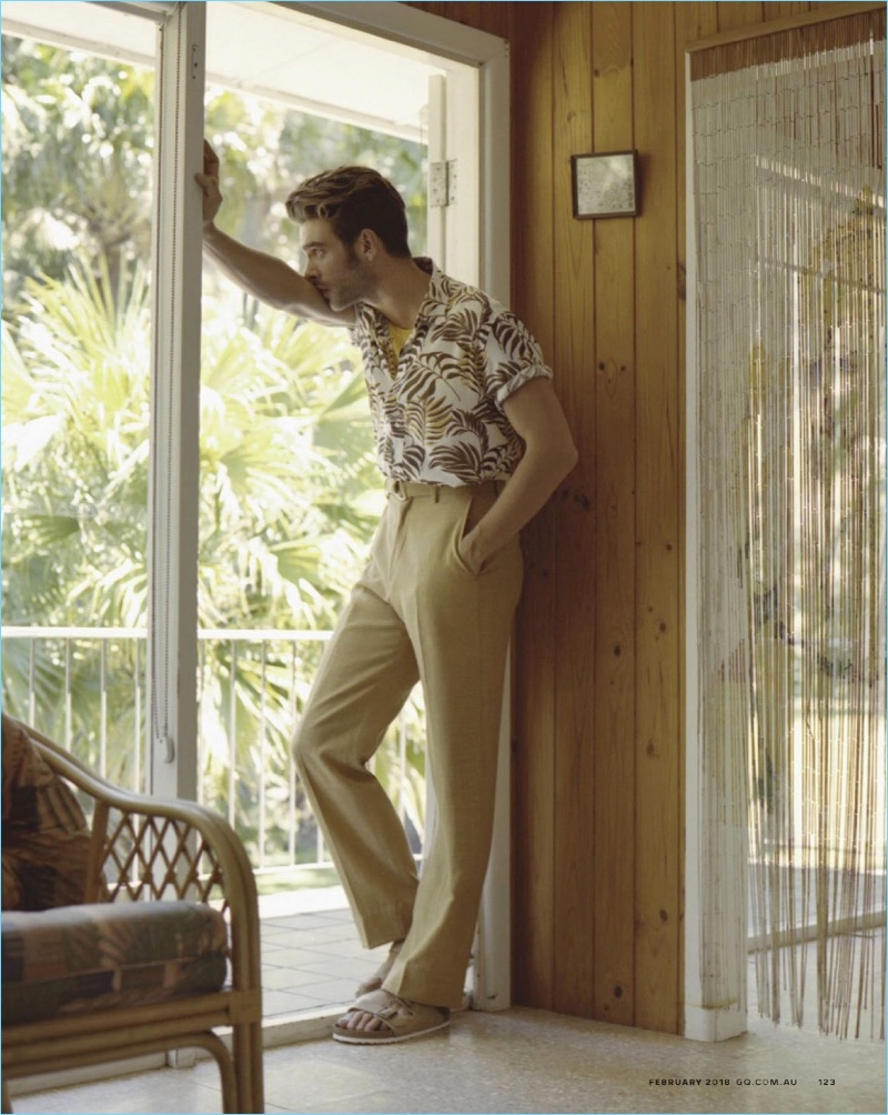 Summer Daze: Jon Kortajarena for GQ Australia