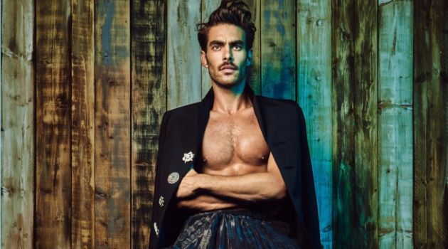 Jon Kortajarena Rocks Flashy Styles for L'Officiel Australia
