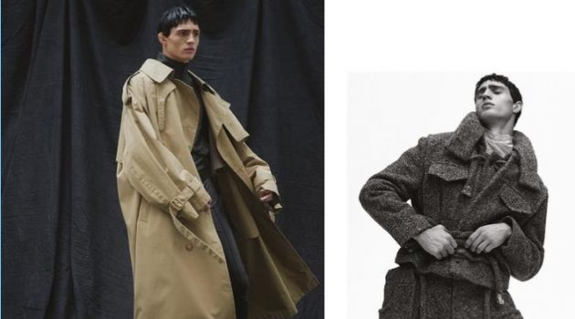Julian Schneyder Sports Oversized Fashions for Glass Men