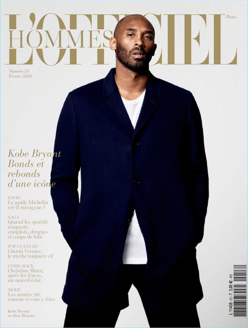 Kobe Bryant L Officiel Hommes Paris 2018 Cover Photo