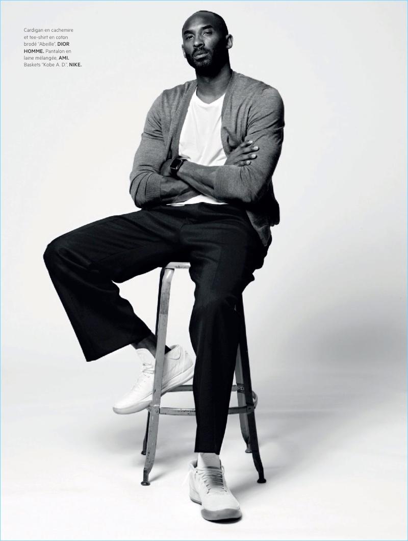 Kobe Bryant   L'Officiel Hommes Paris   2018   Cover   Photo Shoot ...
