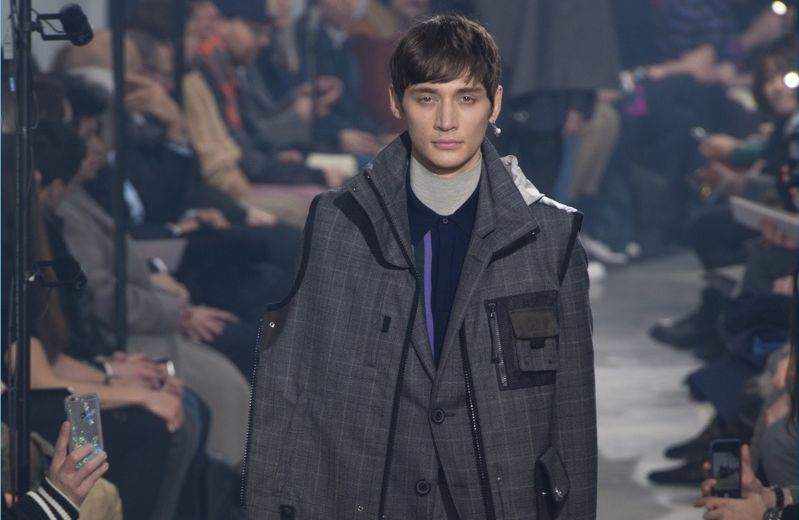 Lanvin Does Sporty Tailoring for Fall '18 Collection