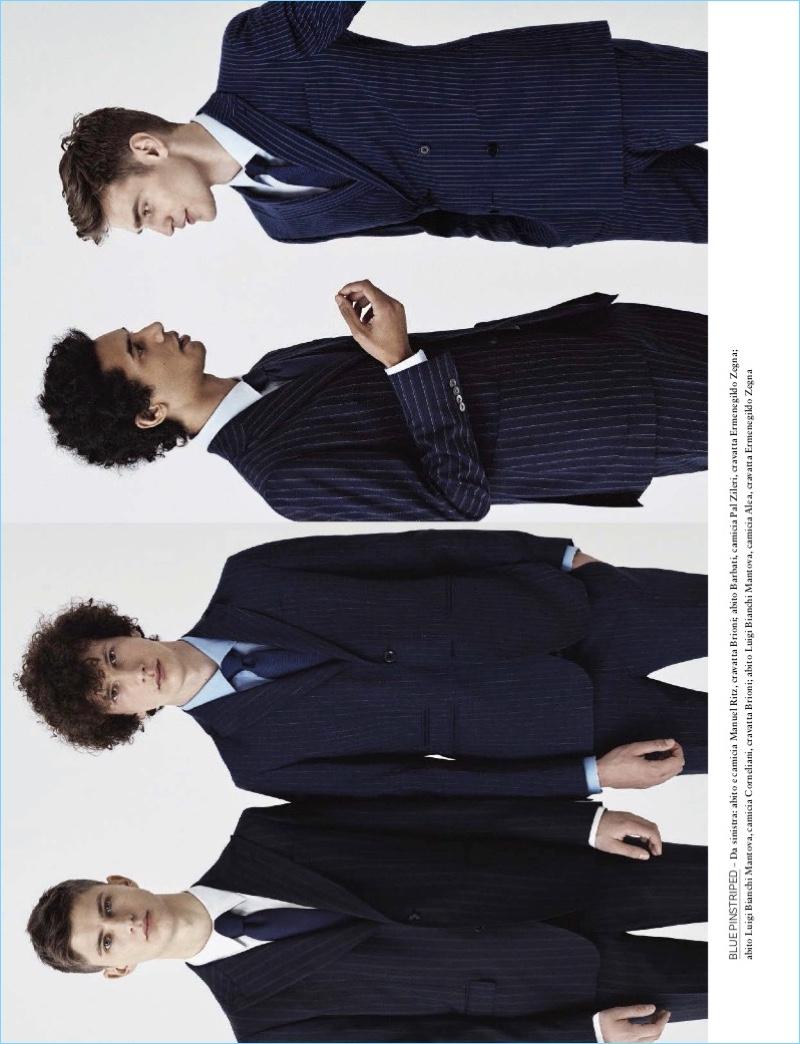 Bo Develius, Filip Roséen + More Sport Spring Fashions for GQ Italia