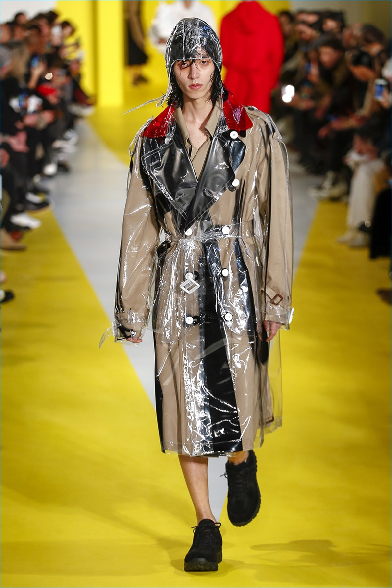 Maison margiela fall 2018 men 39 s collection john galliano for Fashion maison