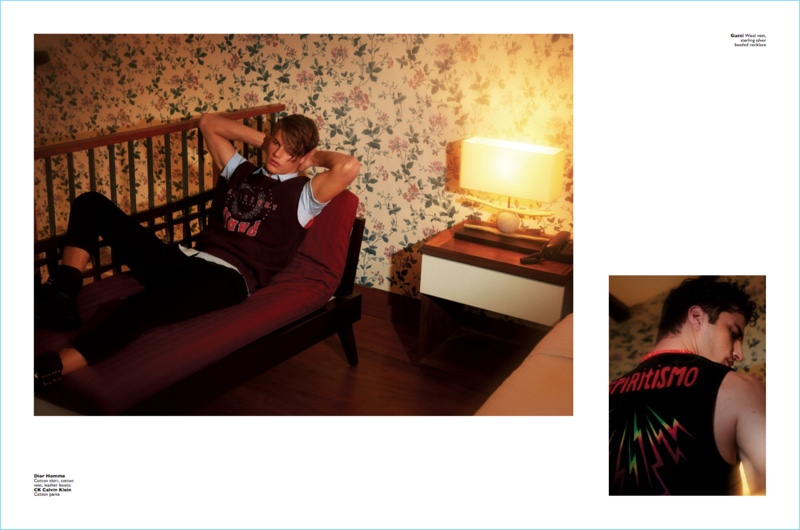 After Hours: Janice Fronimakis & Julian K for Men's Folio
