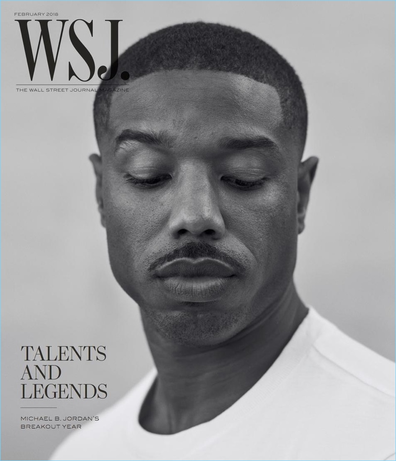 Michael B. Jordan covers WSJ. magazine.
