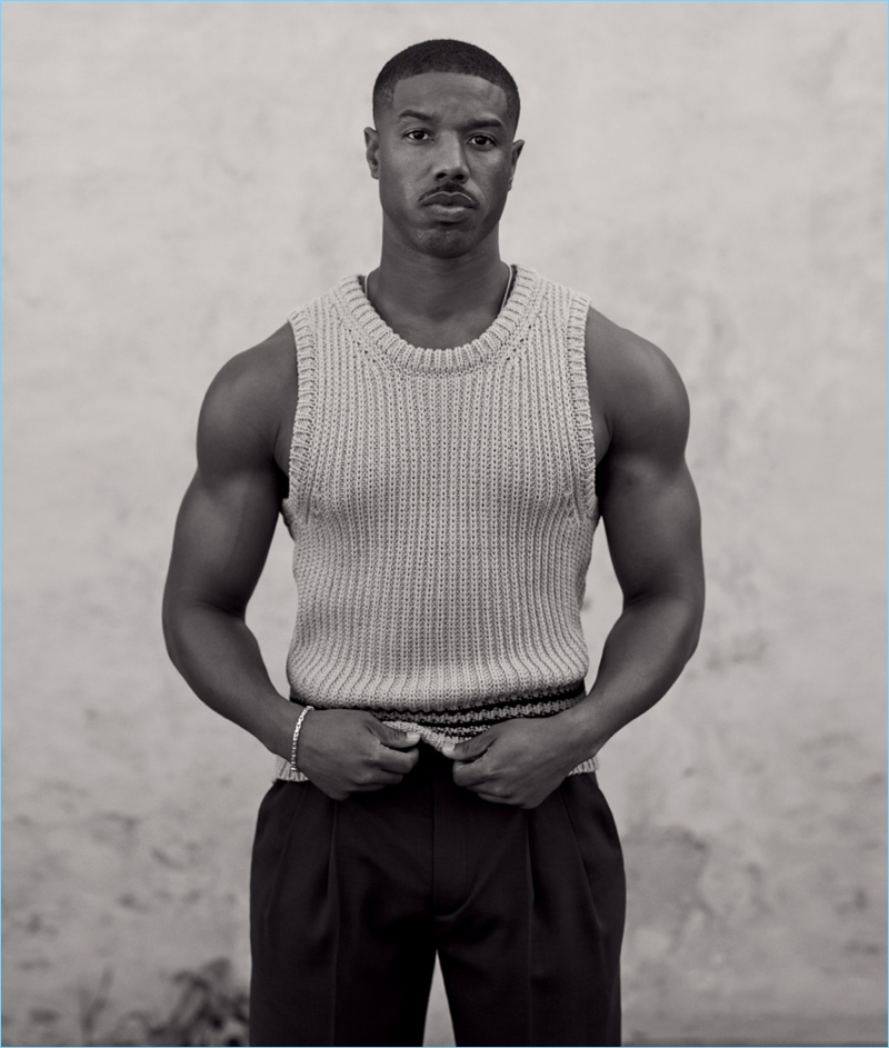 Ethan James Green photographs Michael B. Jordan for WSJ. magazine.