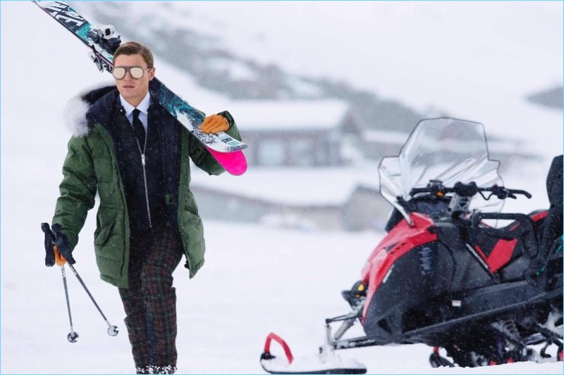 Oliver Cheshire Hits the Slopes with The City Magazine