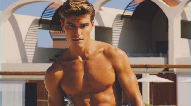 Oliver Cheshire stars in a new fashion shoot for Attitude magazine.