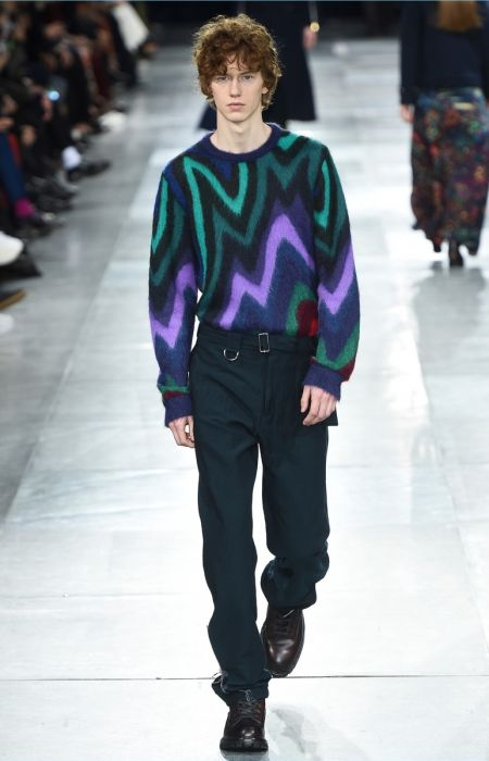 Paul Smith Channels Sharp 80s for Fall '18 Collection