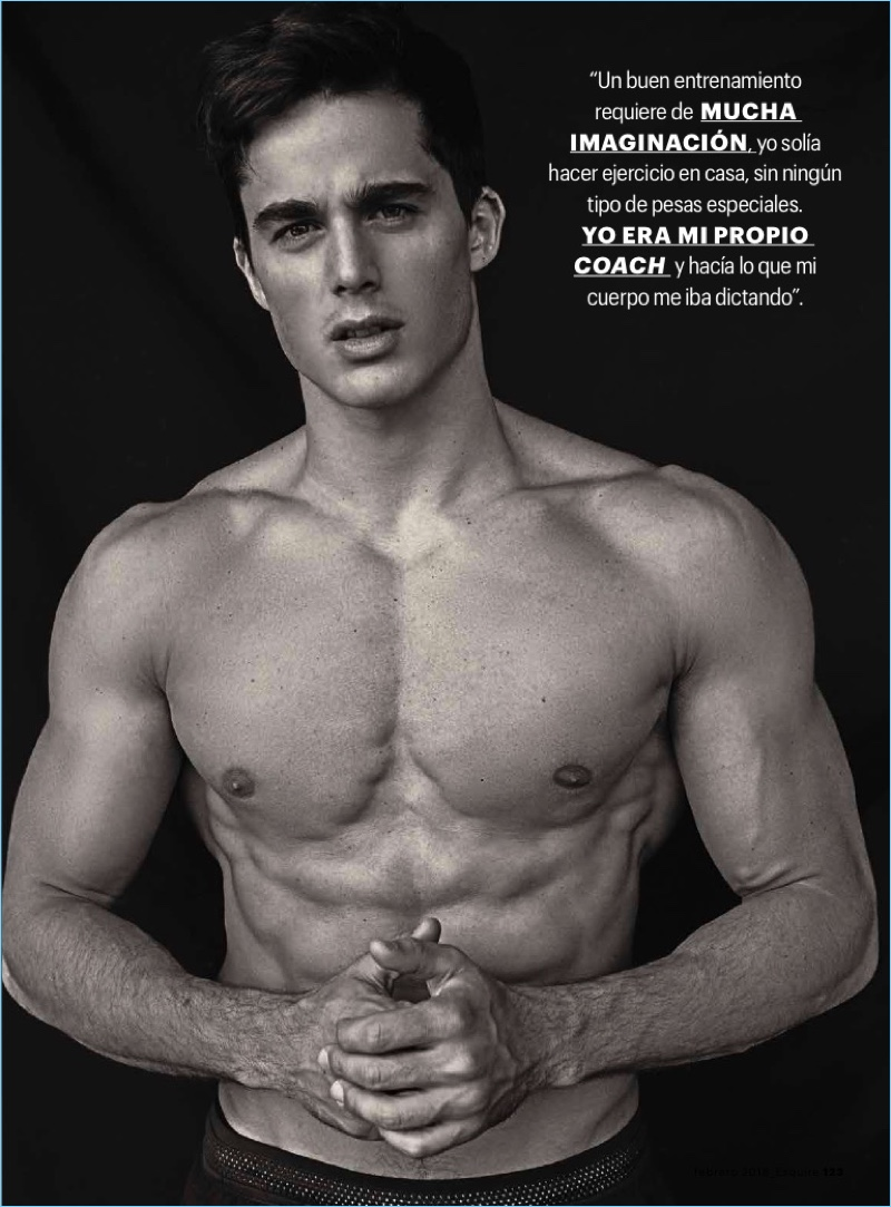 Pietro Boselli is a Fit Vision for Esquire México