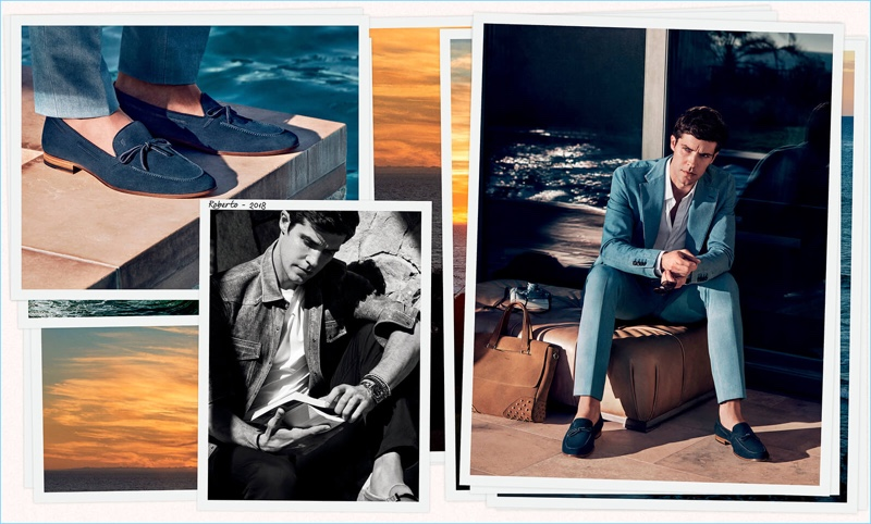 Tod's enlists Roberto Bolle as the star of its spring-summer 2018 campaign.