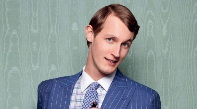 Rutger Schoone Dons Smart Suits for Esquire España