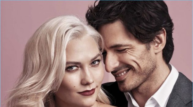 Andres Velencoso Couples Up with Karlie Kloss for Swarovski Valentine's Day Campaign