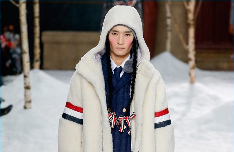 Thom Browne Channels Winter School Days for Fall '18 Collection