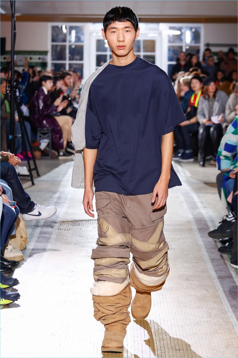 eda387d78a4 UGG | Fall 2018 | Men's Collaboration | Sacai | Y/Project | White ...