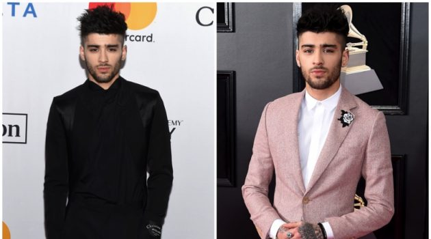 January 2018: Zayn Malik steps out in style to celebrate the Grammy awards.