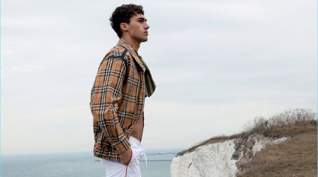 Alessio Pozzi Heads Outdoors with GQ Brasil