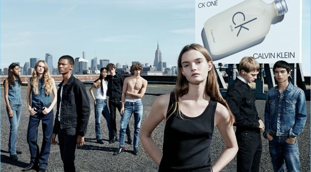 CK One Calvin Klein Fragrance Campaign