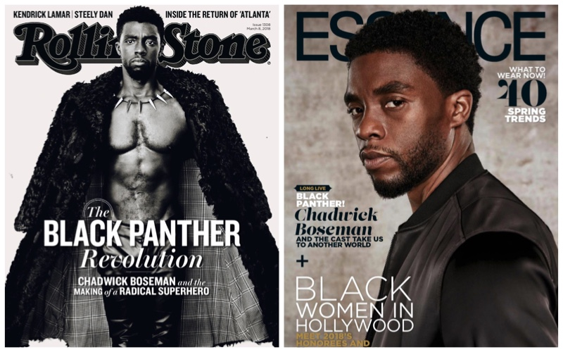 Chadwick Boseman Rolling Stone Essence 2018 Photo Shoot Cover The Fashionisto